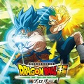 Anime comics Dragon Ball Super: Broly – okładka